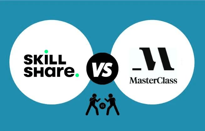 Skillshare vs MasterClass